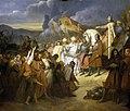 Charlemagne, empereur d'Occident, reçoit la soumission de Wittekind, 785, por Ary Scheffer.jpg