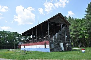 Deerfield Valley Agricultural Society Fairgrounds - Grandstand at the fairgrounds
