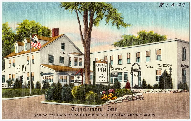 File:Charlemont Inn, since 1787 on the Mohawk Trail, Charlemont, Mass (81029).jpg