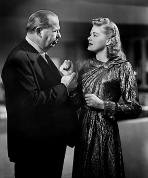 Charles Coburn - Charles Coburn and Helen Walker in Impact (1949)