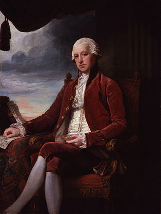 Charles Jenkinson, 1st Earl of Liverpool - The Earl of Liverpool by George Romney