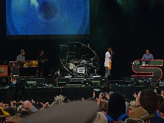Chase & Status - Image: Chase & Status at Bestival 2010 2