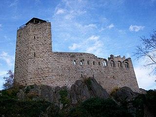 Château du Bernstein castle