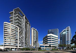 Chatswood, New South Wales - Commercial centre of Chatswood
