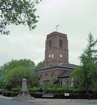 Chelsea Old Church - Image: Chelsea Old Church in London