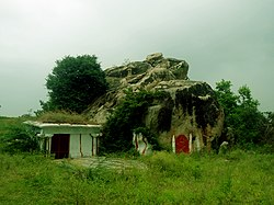 Ancient Temple site at Arrur Village in Nalgonda District