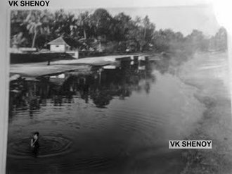 Cherthala - Cherthala Back waters at 1960s