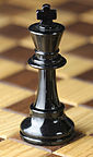 Chess piece - Black king.JPG