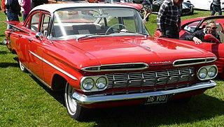 Chevrolet Biscayne Full-size sedan produced by Chevrolet