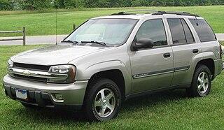 Chevrolet TrailBlazer American mid-size sport utility vehicle