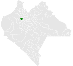 Municipality o Chicoasén in Chiapas