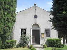 Facciata della chiesa di San Rocco.