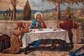 Chiesa di Roncello - altar maggiore - La cena di Emmaus.jpg