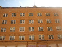 The Large Childress Hotel Operates With Limited Clientele