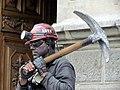 Chilean Miner human statue - Plaza de Armas - Santiago, Chile (5277413715).jpg