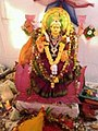 Chinalingala Dussera 2013 Sri Mahalakshmi devi Alamkaram by Girikonda.jpg