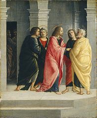 Christ Instructing Peter and John to Prepare for the Passover