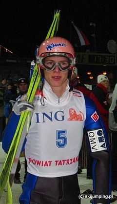 Christian Nagiller in Zakopane 2003