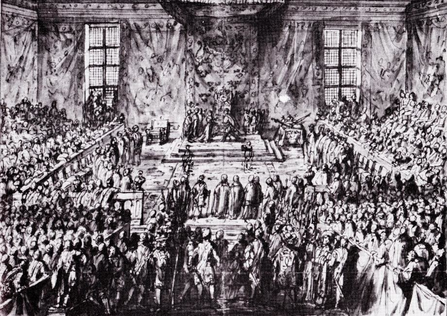 Christina of Sweden's abdication 1654