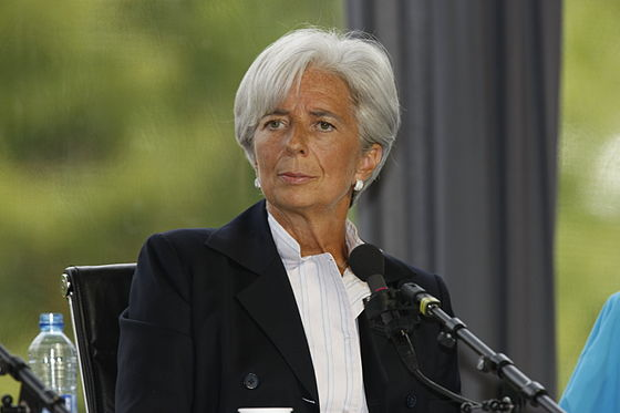On 28 June 2011, Christine Lagarde was named managing director of the IMF, replacing Dominique Strauss-Kahn. Christine Lagarde - Universite d'ete du MEDEF 2009.jpg