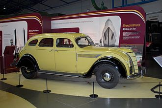 Kew - 1936 Chrysler Heston in the National Railway Museum, York