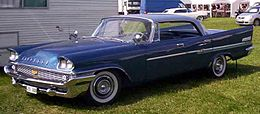 Una Chrysler New Yorker del 1958