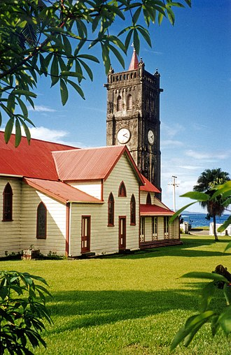 Levuka - Sacred Heart Church, Beach Street