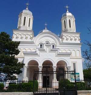 Hârșova - Image: Church of Harsova