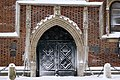 Church of Our Lady Assumed into Heaven (Gothic portal), 5 Mariacki square,Old Town, Krakow, Poland.jpg