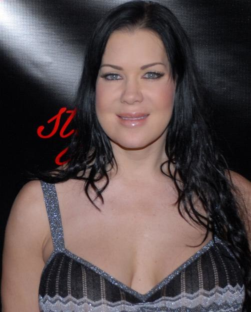 Chyna at Slim-Fast Fashion Show 1