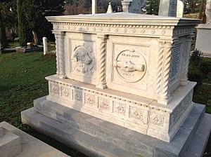 Bagni di Lucca - Image: Cimitero Inglese, Bagni di Lucca, Ernst Georg Friederich Gryzanowski (1824 1888)