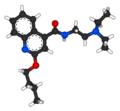 Cinchocaine 3D ball-and-stick.png