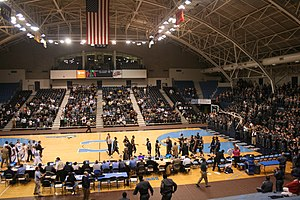 McAlister Field House - Image: Citadel Basketball