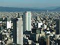 City Tower Osaka Views from the Nakanoshima Festival Tower in 201510 001.JPG