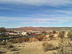 View of Barstow, looking northwest