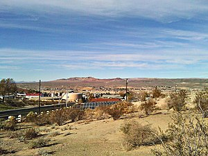 Barstow, California - View of Barstow, looking northwest