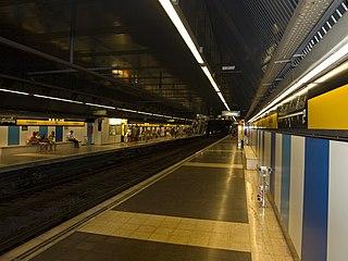 Barcelona Metro station