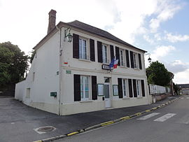 The town hall of Clacy-et-Thierret