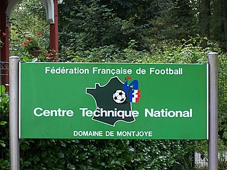 Clairefontaine (football) - National Technical Centre entrance