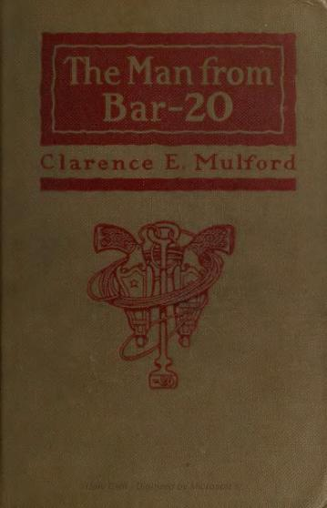 Clarence Mulford - Man from Bar-20.djvu