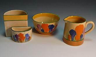 Clarice Cliff - Crocus pattern