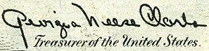 Georgia Neese Clark - Image: Clark, Georgia Neese (engraved signature)