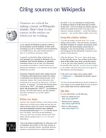 Classroom handout - Citing sources on Wikipedia.pdf