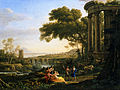 Claude Lorrain - Landscape with Nymph and Satyr Dancing - Google Art Project.jpg