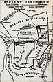 Claude Reignier Conder. Ancient Jerusalem. 1889.jpg