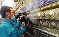 Cleaning of Fatima Masumeh shrine, Qom - 28 September 2011 13.jpg