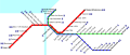 Cleveland RTA Rapid Transit map.svg