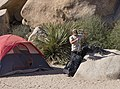 Climber in Hidden Valley Campground - 25484546972.jpg