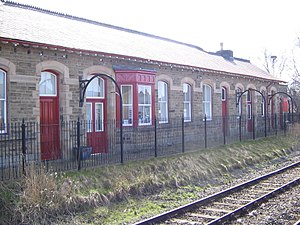 Clitheroe railway station - Image: Clitheroe railway station 2