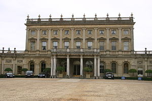Cliveden House - The north front